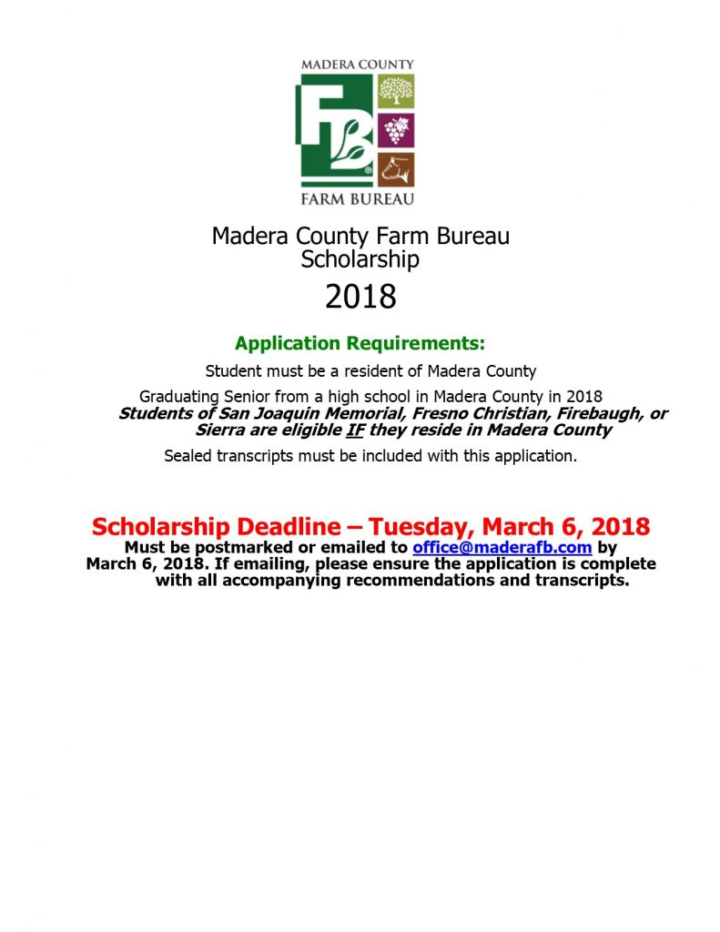 2018 application page